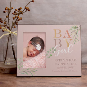 Personalized Picture Frame - Baby Girl