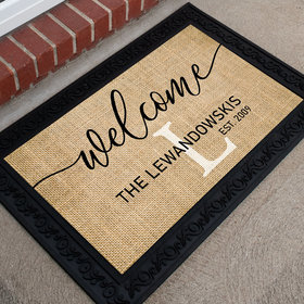 Personalized Doormat Welcome General