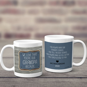 Personalized Reasons Why We Love 11oz Mug Empty