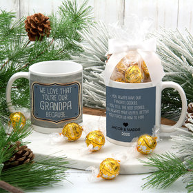 Personalized Reasons Why We Love 11oz Mug with Lindt Truffles