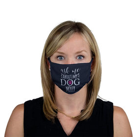 Personalized Face Mask - Ask Me About My Dog