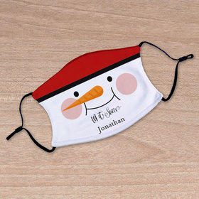 Personalized Face Mask - Let it Snow
