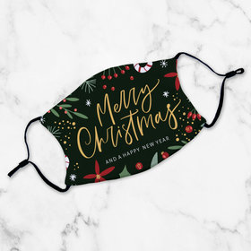 Face Mask - Merry Christmas & Happy New Year
