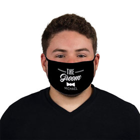 Personalized Face Mask - The Groom