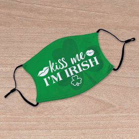 Adult Face Mask - Kiss Me I'm Irish