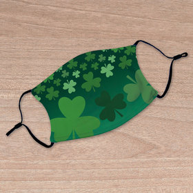 Adult Face Mask - Shamrocks