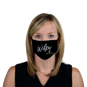 Personalized Face Mask - Wifey Est.