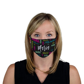 Personalized Face Mask - Repeating Name