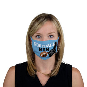 Personalized Face Mask - Football Sports Mom