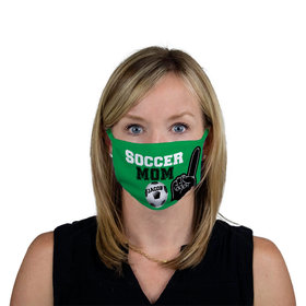 Personalized Face Mask - Soccer Sports Mom