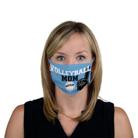 Personalized Face Mask - Volleyball Sports Mom