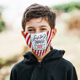 Personalized Face Mask - Santa's Favorite