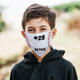 Personalized Face Mask - Baseball