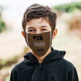 Personalized Face Mask - Football