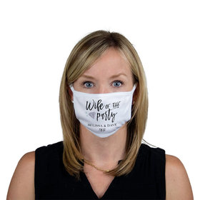 Personalized Face Mask - Wife of the Party