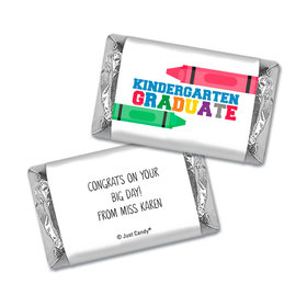 Graduation Personalized HERSHEY'S MINIATURES Wrappers Crayon Grad