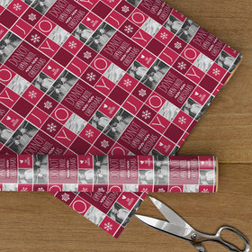 Custom Wrapping Paper - Do Not Open Until Christmas