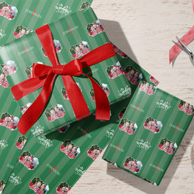 Custom Wrapping Paper - It's a Wonderful Life Photo Christmas