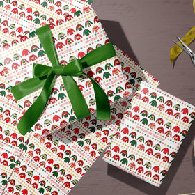 Custom Wrapping Paper - Ugly Sweater Christmas