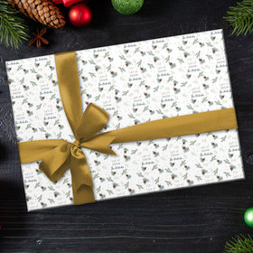Custom Wrapping Paper - Let It Snow Christmas