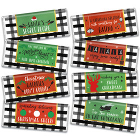 Christmas Cheer Candy Hershey's Chocolate Bars Gift Box (8 Pack)