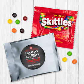 Personalized Happy Holidays Chalkboard - Skittles