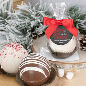 Personalized Christmas Hot Cocoa Bomb - Glory to God in the Highest