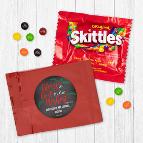 Personalized Christmas Glory to God in the Highest - Skittles