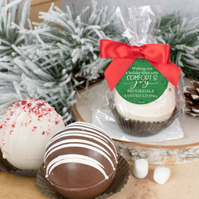 Personalized Christmas Hot Cocoa Bomb - Comfort and Joy