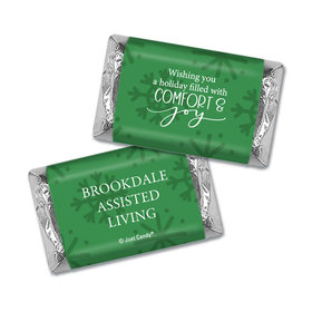 Personalized Christmas Comfort and Joy Hershey's Miniatures Wrappers