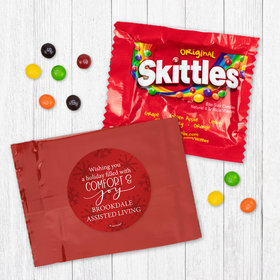 Personalized Christmas Comfort and Joy - Skittles