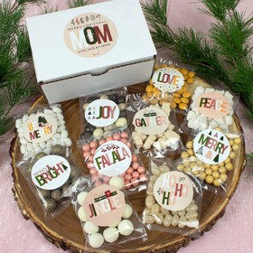 Personalized Christmas Mom's Christmas Care Package Candy Gift Box