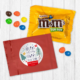Personalized Nordic Christmas - Peanut M&Ms
