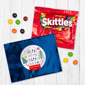Personalized Nordic Christmas - Skittles