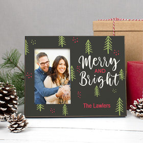 Personalized Picture Frame - Christmas Merry and Bright