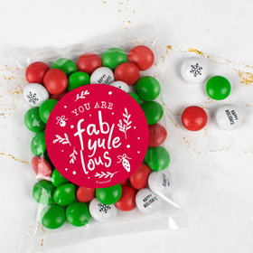 Christmas Candy Bag with JC Chocolate Minis - Fab-Yule-Lous