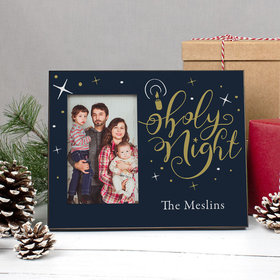 Personalized Picture Frame - Christmas Holy Night