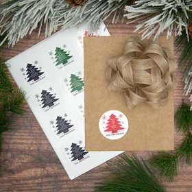 Personalized Write Your Own Tree Labels (72 Pack)