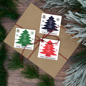Personalized Write Your Own Tree Gift Tags (24 Pack)