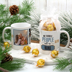 Personalized My Favorite People Call Me 11oz Mug with Lindt Truffles