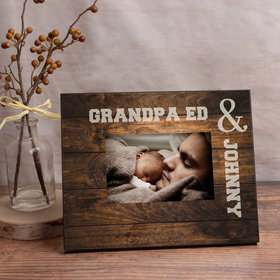 Personalized Picture Frame - Grandpa and Me