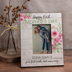 Personalized Picture Frame - First Mother's Day