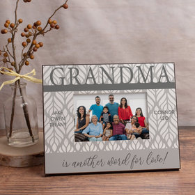 Personalized Picture Frame - Grandma is Another Word for Love! (5)