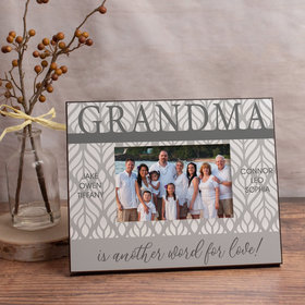 Personalized Picture Frame - Grandma is Another Word for Love! (6)
