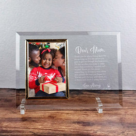 Personalized Picture Frame - Dear Mom