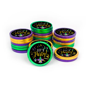 Chocolate Coins - Mardi Gras Let's Party (84 Pack)