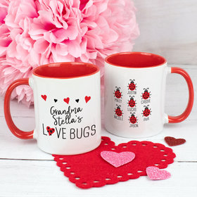 Personalized Seven Love Bugs 11oz Mug
