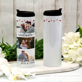 Personalized Soulmates Stainless Steel Thermal Tumbler (16oz)