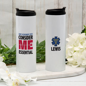 Personalized First Responder Stainless Steel Thermal Tumbler (16oz)