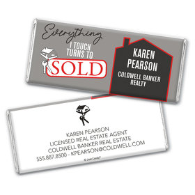 Personalized Realtor Everything I Touch Chocolate Bar